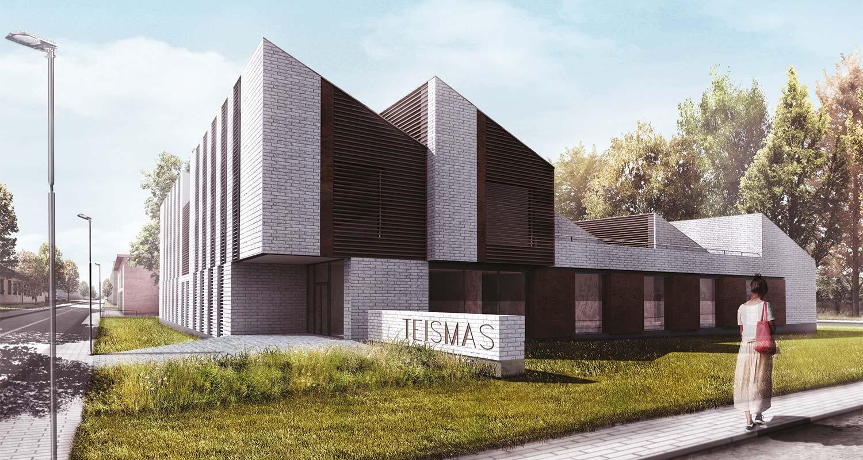 Teismo rumu pastato projektas Ukmergeje PRB
