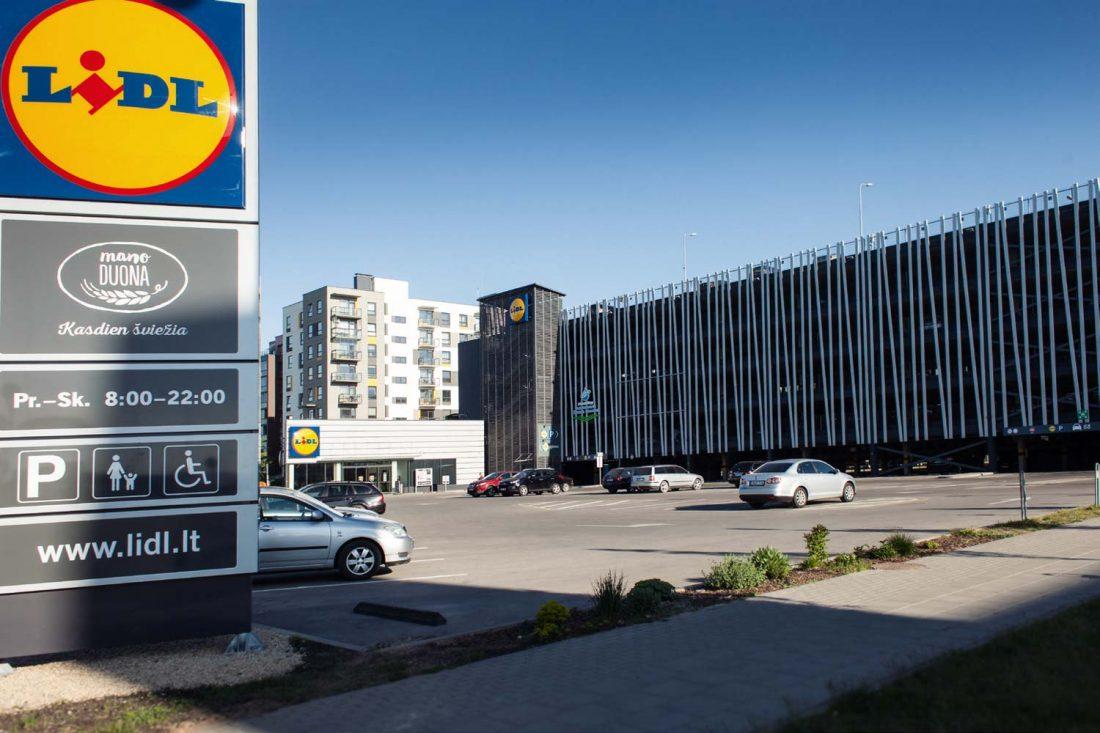 Lidl PC Vilniuje Pilaitėje