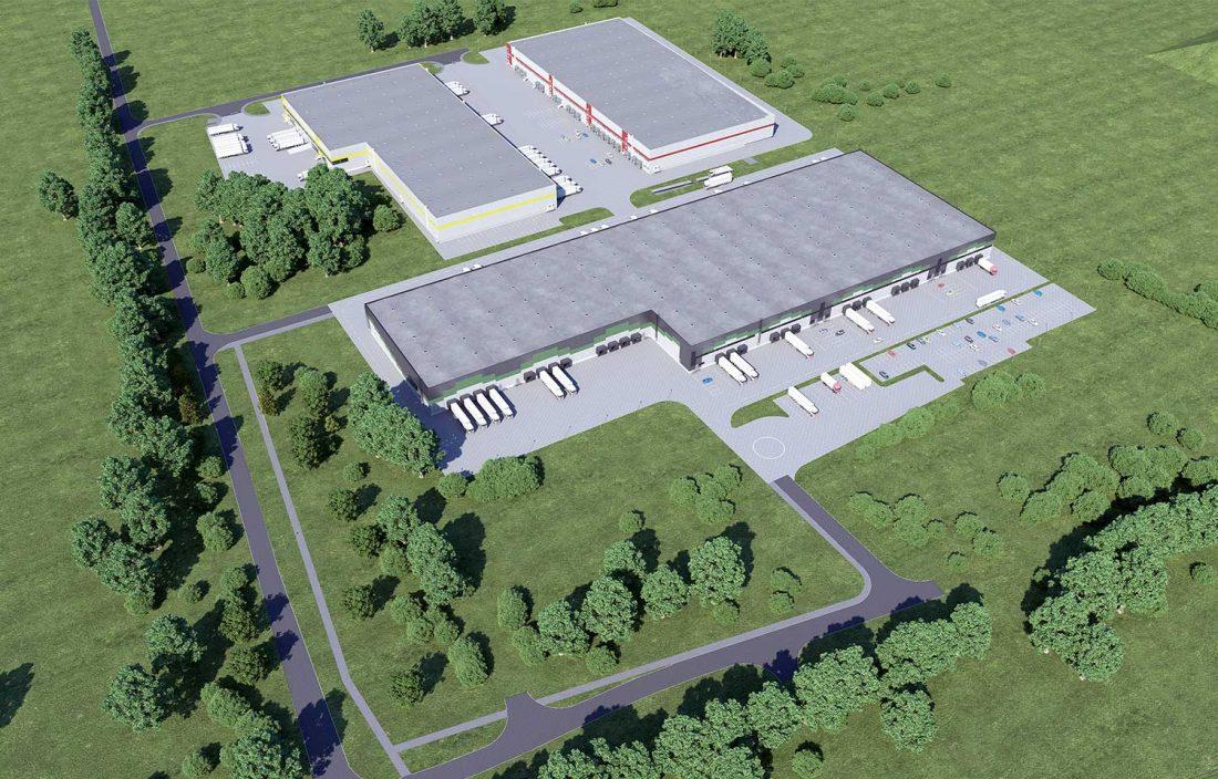 Sandėliavimo bei administracinės paskirties pastatas